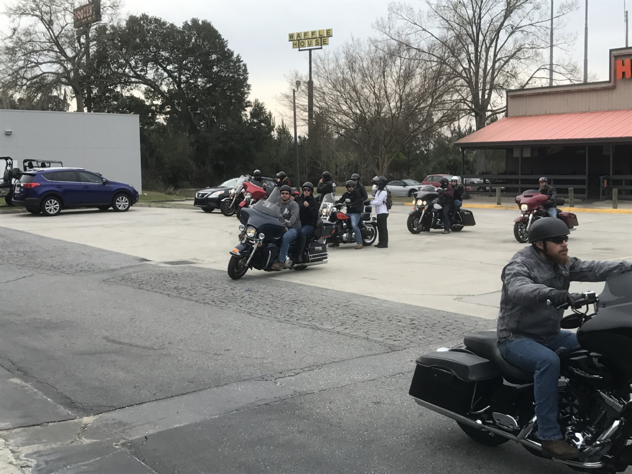 Our 1st attempt at hosting a Poker Run as a Fundraiser! 